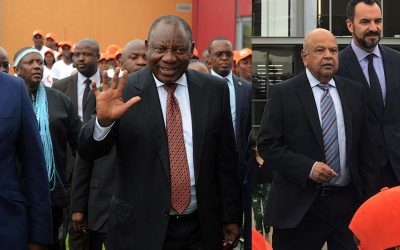 President Cyril Ramaphosa launches Youth Employment Service at The Canvas Riversands