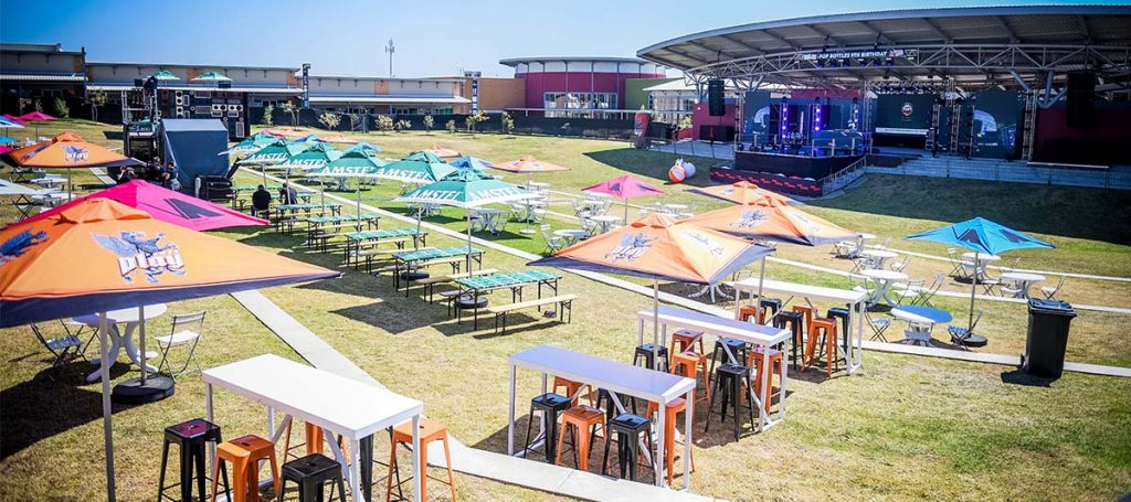Outdoor Amphitheater Venue Johannesburg